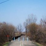 Die Brücke ohne Wiederkehr wurde nur ein einziges Mal für den Austausch von Menschen genutzt