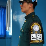 Soldat mit Schulterabzeichen